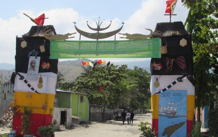 Gapura husi Suco Vila Verde
